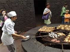 Cooking Over an Active Volcano! This is incredibly Amazing- Grilling on a new level!