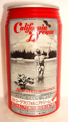 1990s Coca-Cola JAPAN United Airlines AD   Flickr - Photo Sharing!