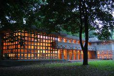 Turkel House - Usonian - Frank Lloyd Wright - Detroit, Michigan