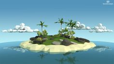 Tropical Island (Low Poly) - Imgur