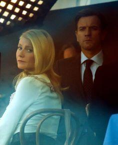 Ewan McGregor y Gwyneth Paltrow, sofisticación y elegancia en el rodaje de su nueva película