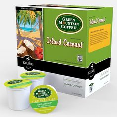 Green Mountain Coffee Island Coconut K-cups Coffee 72 Count -- You can get additional details at the image link.