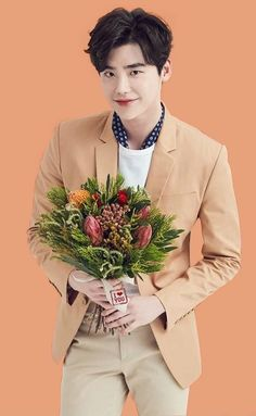 I thought all the mushy love stuff was unnecessary. until I saw you for the first time. My heart skipped a beat. ❤ Lee jong suk.