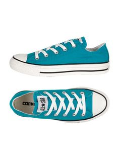 Teal Converse Low-Tops. I love these shoes, and I found them for only $14!!