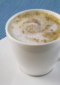 Cinnamon-Spiced Latte -- In just 5 minutes, you can have this impressive latte ready to serve to guests. This recipe will be better than any barista-made beverage from your local coffee shop!
