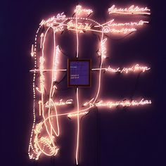 "«Joseph Kosuth's ""A Conditioning of Consciousness,"" 1988, part of ""Agnosia, An Illuminated Ontology: An Installation By Joseph Kosuth,"" on view sf…»"