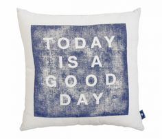Good Day Pillow Cover Uncovet