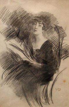 Giovanni Boldini - Reading