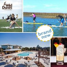 "Wild Dunes Resort Bucket List// Look for the ""Brand New"" stamp throughout the Vacation Planner so you don't miss out on NEW summer fun!"