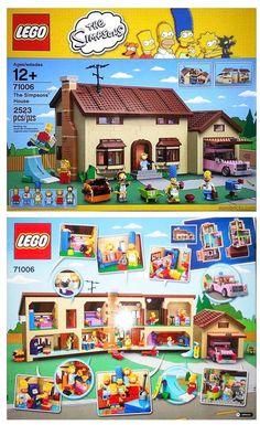 Los Simpson en LEGO. ¿A que los quieres?