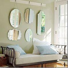 Ideas+de+decoración.+Decorar+las+paredes+con+espejos.+ +Mil+Ideas+de+Decoración
