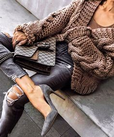 Herbst-Wintermode-Outfits 2019 Discover the details that make the difference to the best street style, unique people with lots of style Winter Fashion Outfits, Fall Winter Outfits, Look Fashion, Autumn Winter Fashion, Womens Fashion, City Fashion, Looks Chic, Looks Style, My Style