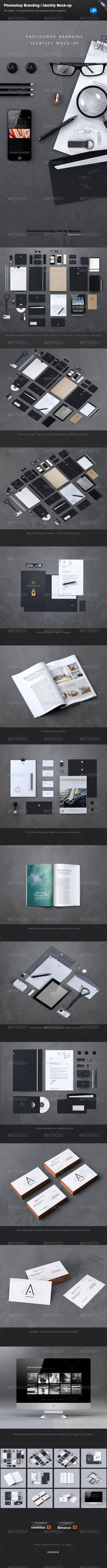 Stationery / Branding Mock-Up : Check out this great #graphicriver item 'Stationery / Branding Mock-Up' http://graphicriver.net/item/stationery-branding-mockup/4367980?ref=25EGY