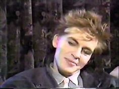 Nick Rhodes & John Taylor (Duran Duran) on MuchMusic's Blue Spotlight 1984