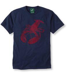 Lobster T-shirt - made in the USA #Portland #Maine #LLBean