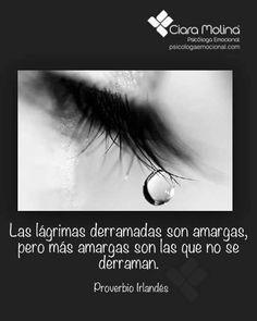 DEJA FLUIR TUS EMOCIONES...  (((Sesiones y Cursos Online www.ciaramolina.com #psicologia #emociones #salud)))