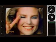 1984 - Cover Girl Mascara with Christie Brinkley - YouTube