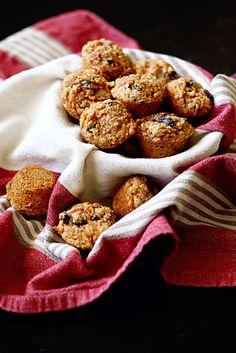 Healthy Raisin & Sweet Potato Snack Muffins