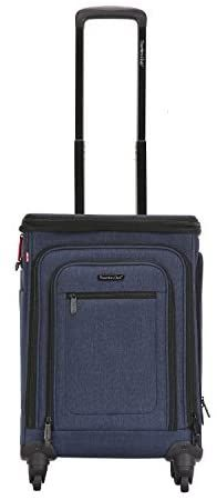 """Travelers Club 20"""" Top Expandable Upright W/USB Port Connector, Suitcase, 21"""" Spinner Carry-On, Navy Blue Shopping World, Online Shopping Stores, Luggage Store, Innovation Design, Travel Accessories, Suitcase, My Etsy Shop, Navy Blue, Usb"""