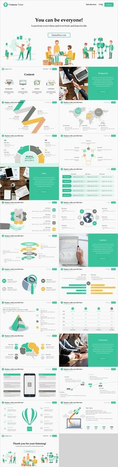This is a creative and minimalist PowerPoint template you can use to create presentations for startups and personal portfolios. Presentation Software, Presentation Slides, Business Presentation, Presentation Design, Presentation Backgrounds, Simple Powerpoint Templates, Professional Powerpoint Templates, Keynote Template, Business Design