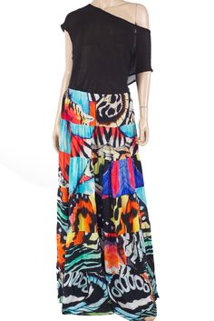 Boho Skirt. Tropical Guadeloupe