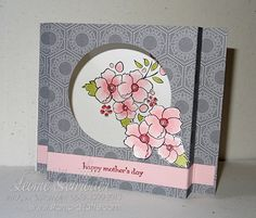 Time Out … for Mum Bordering on Romance Diorama Card