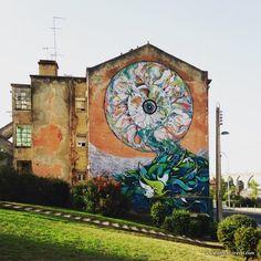 Ram Klit campolide street art lisbon || A comprehensive street art guide of Lisbon, Portugal - Read it here: http://www.blocal-travel.com/street-art/lisbon-street-art-guide/