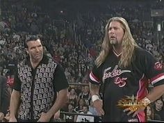 Broiled Sports: Kevin Nash & Scott Hall (The Outsiders) vs. Nwo Wrestling, Scott Hall, Kevin Nash, Big Daddy, The Outsiders, Mens Tops, Minka, Collection, Beverly Hills