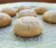 Media Hora para Cocinar: Galletas italianas de limón