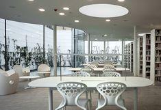 Nova biblioteca a Maranello(Itàlia) by Arata Isozaki and Andrea Maffei