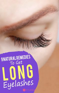 how to make your eyelashes longer without makeup