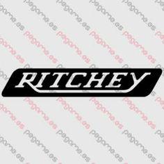 Pegame.es Online Decals Shop  #logo #bicycle #mtb #ritchey #vinyl #sticker #pegatina #vinilo #stencil #decal