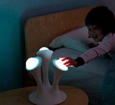 Lampara quitamiedos Glo Boon con LED. 3 bolas.Forbebes Tecnologia para bebes. Tienda online para bebes