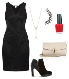 """""""House party"""" by stina999 on Polyvore featuring Diane Von Furstenberg, Dolce&Gabbana, Dune, OPI and EF Collection"""