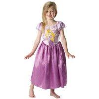 Partyleihkiste.de - Zauberhaftes Rapunzel Classic Kinderkostüm in lila für Mädchen. Ein Prinzessinnenkleid zum Disney-Film, anziehen und glücklich sein!