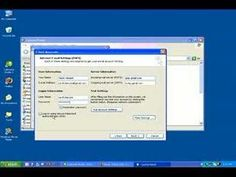 How-to Configure Gmail with Microsoft Outlook 2003