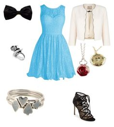 """""""Alice"""" by aubrylynn73 ❤ liked on Polyvore featuring Jacques Vert, Pour La Victoire, Sian Bostwick Jewellery and Disney Couture"""