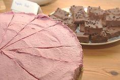 Rohkoestlicher-Erdbeer-Käse-Kuchen