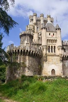 Castillo de Butron in Spain.