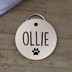 Amazon.com : Stainless Steel Pet ID Tags, Personalized Dog Tag and Cat Tag, Gold, Rose Gold, and Silver, up to 5 Lines of Custom Text, Engraved on Both Sides, in Round, Bone, Diamond, and More (Heart) : Pet Supplies Cat Tags, Pet Id Tags, Personalized Dog Tags, Cute Box, Pet Names, Pattern Names, Love Design, Metal Stamping, Really Cool Stuff