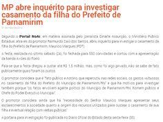 RN POLITICA EM DIA: DEU NO BLOG DO HEITOR GREGÓRIO... MP ABRE INQUÉRIT...