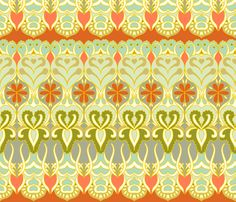 $17.50 flower_wave_for_whales fabric by holli_zollinger on Spoonflower - custom fabric