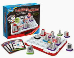 Our Laser Maze logic game was just recommended by American Mensa! Time to break…
