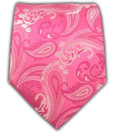 Walking Paisley - Fuchsia | Ties, Bow Ties, and Pocket Squares | The Tie Bar