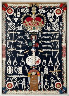 Very Fancy Knot board - S.J.H. Neal - Royal Museums.