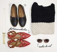 Faça sua mala para o feriadinho e não esqueça de levar flats confortáveis para poder passear bastante! :D