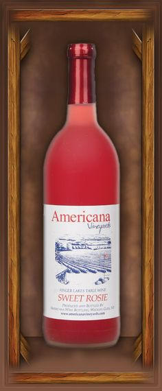 Sweet Rosie is a strawberry-like dessert wine which is one of their signature wines for the sweet wine lover.