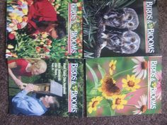 BIRDS & BLOOMS MAGAZINE 2003 lot-magazine for bird, butterfly and garden lovers