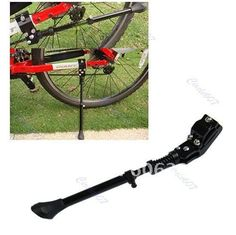B39Adjustable Bike Bicycle Cycling Side Replacement Kickstand Kick Stand Kit+