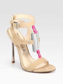 High heel cool shoes.
